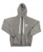 CC Zipped Hoodie stone washed grey Hoodies