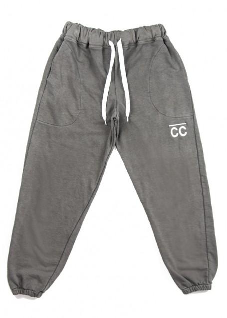 Washed grey CC Sweatpants
