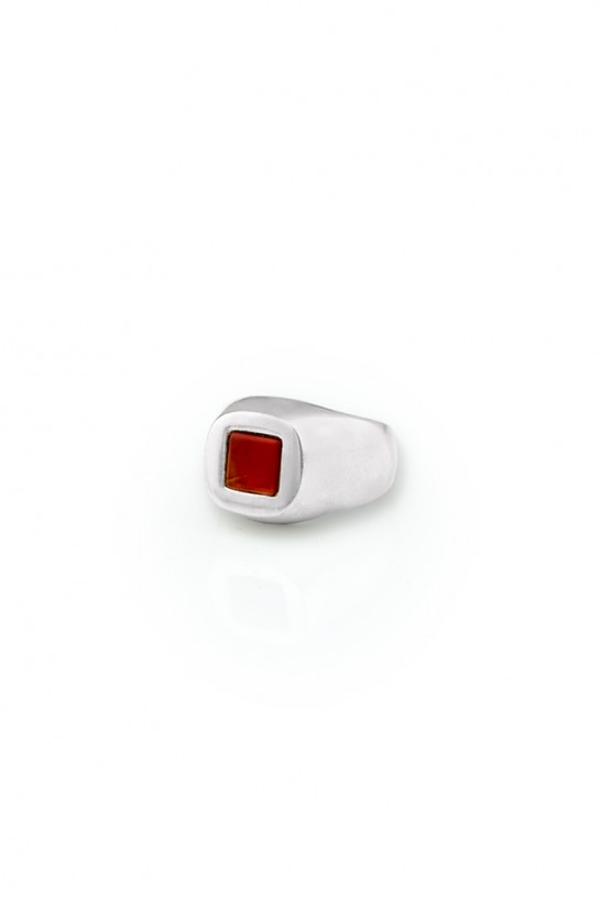 Red Cube  Rings