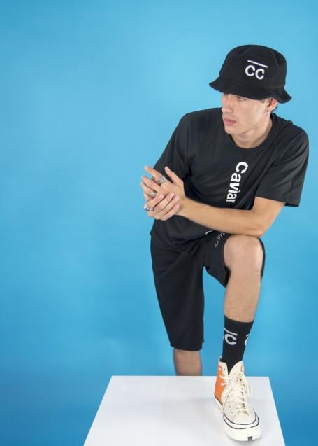 Socks Black with white CC logo