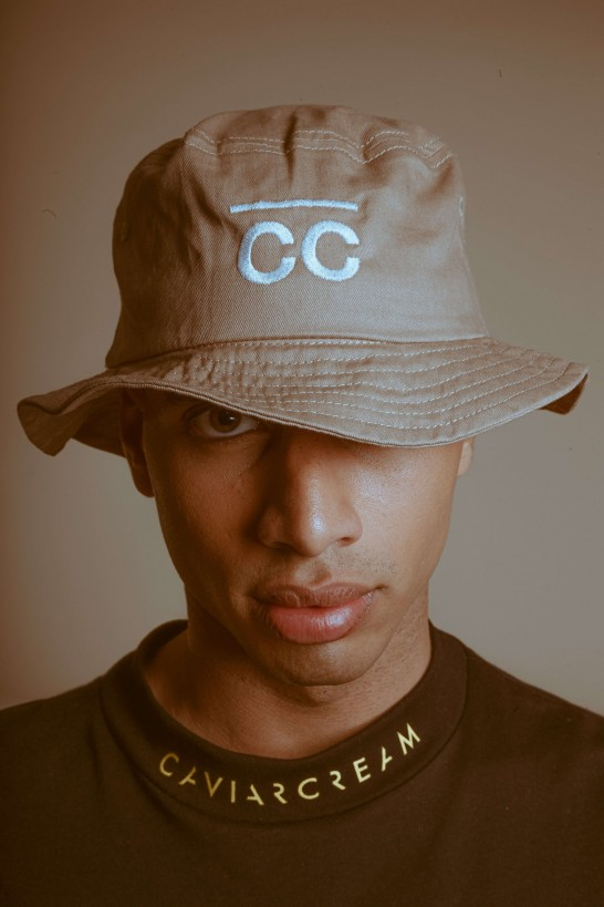 Bucket Hat sand with CC logo Hats