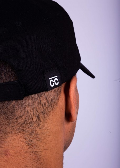 Black Hat with white CC logo
