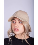 Sand Hat with White CC logo Hats