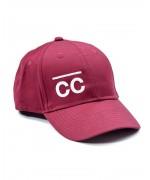 Bordeaux Hat with white CC logo Hats