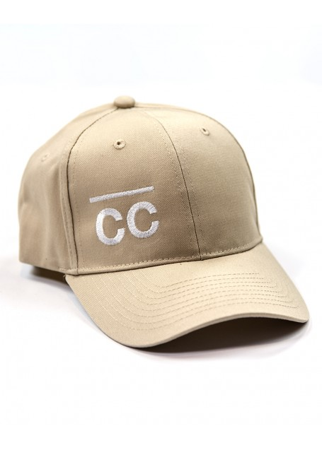 Sand Hat with White CC logo
