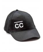 Black Hat with white CC logo Hats