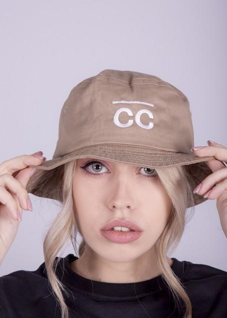 Bucket Hat sand with CC logo