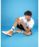 Socks white with black CC logo Socks