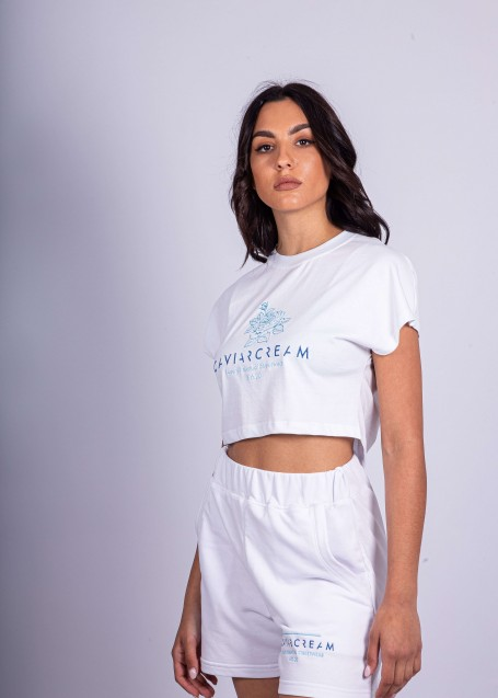 Women Shorts White
