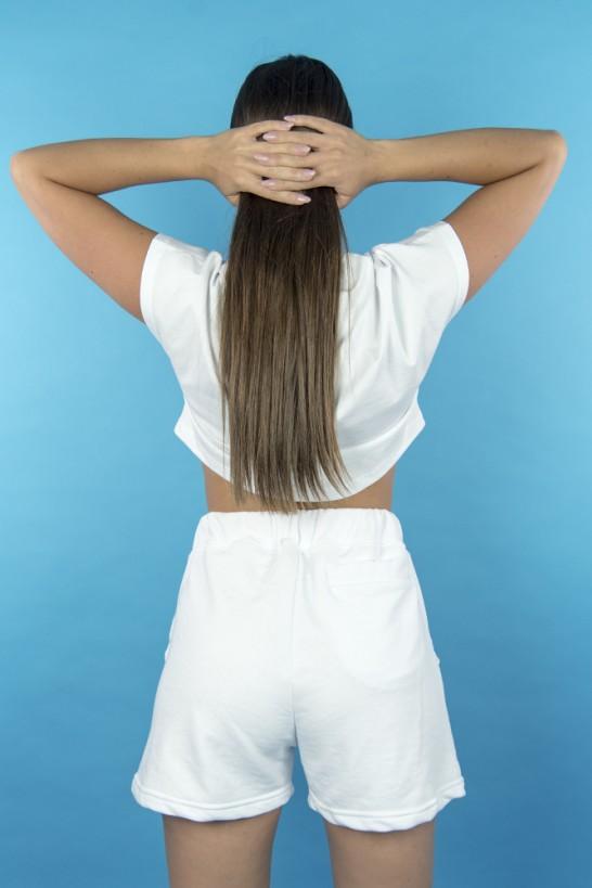 Women Shorts White  Shorts